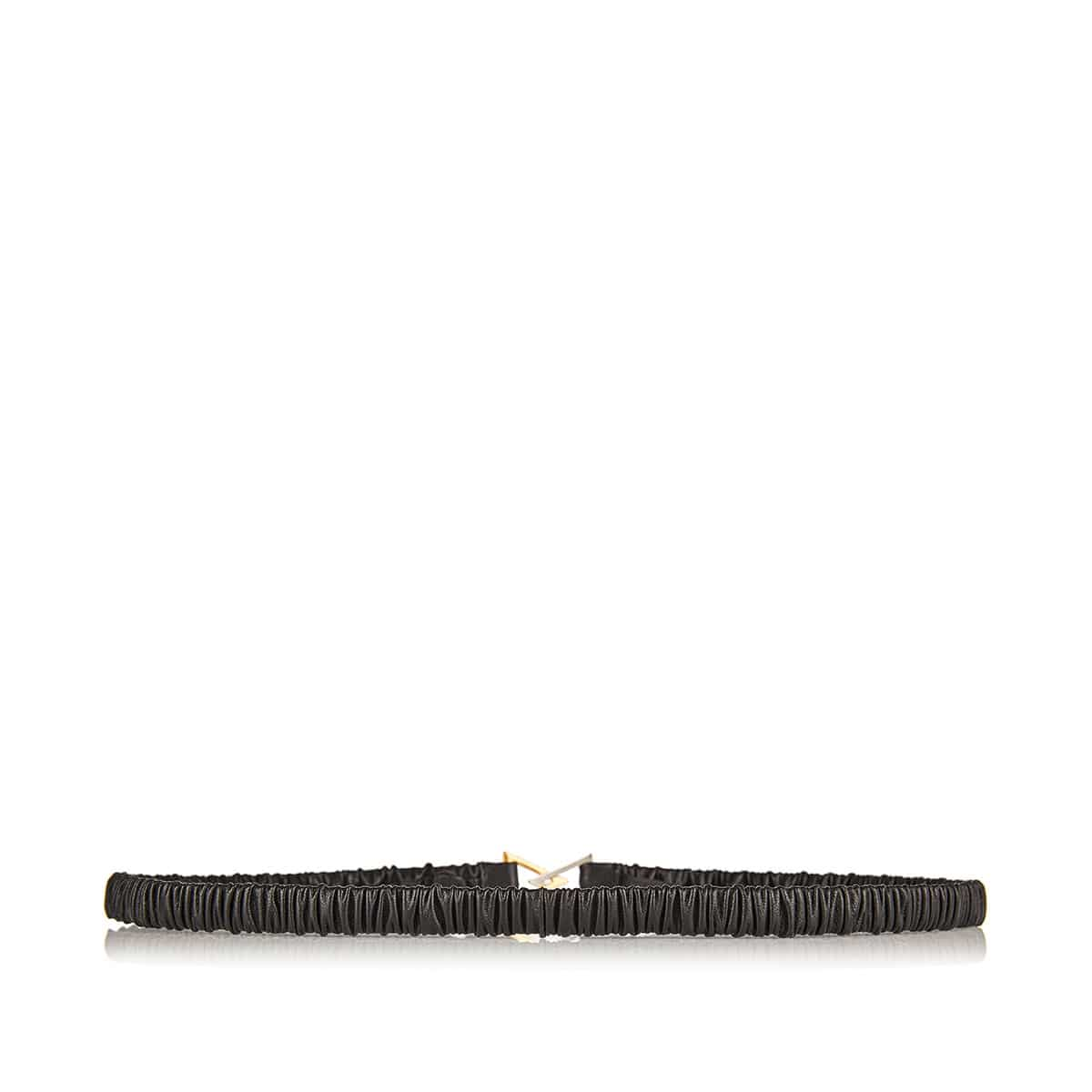 Triangle-buckle elasticated belt