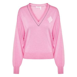 Logo cotton sweater