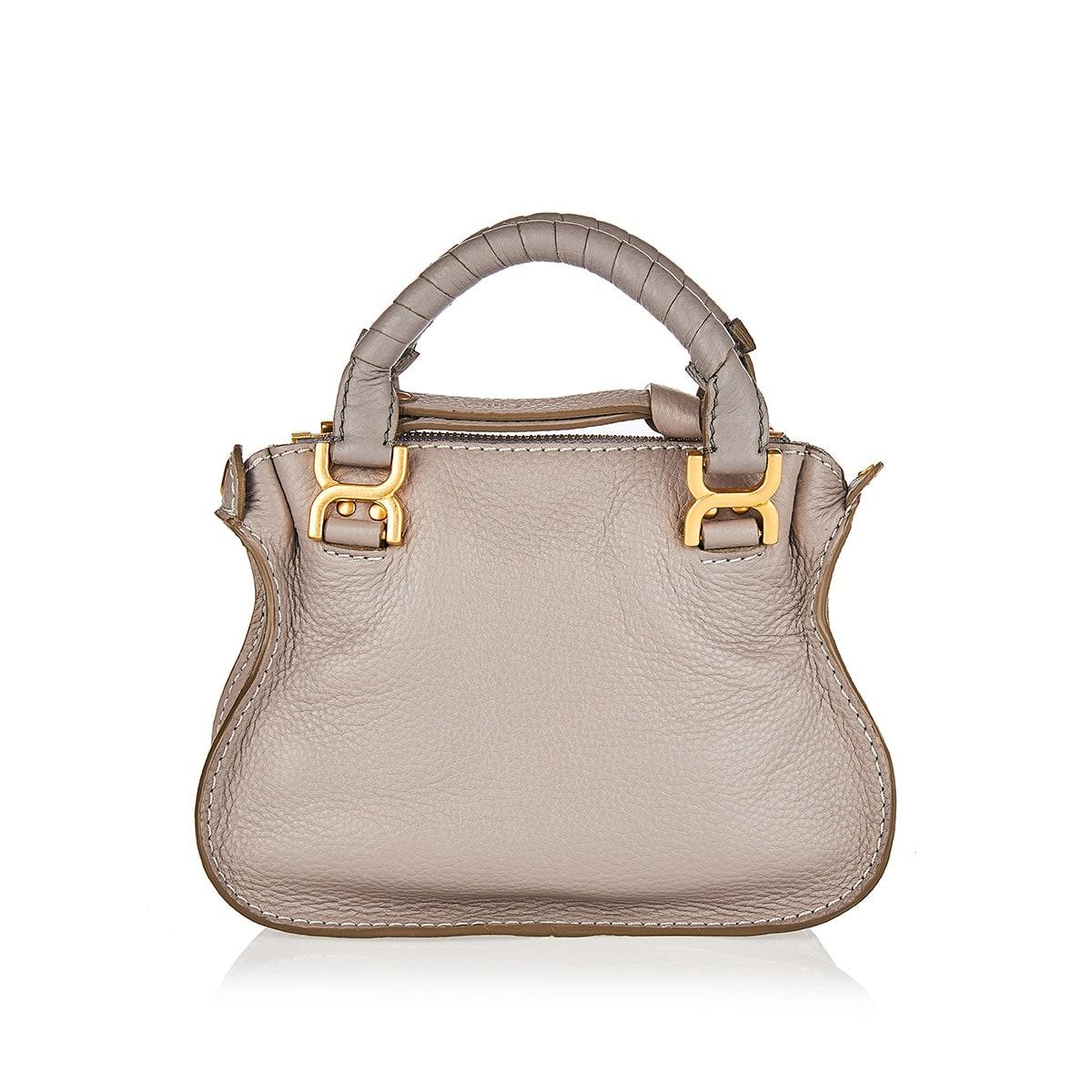 Marcie mini leather handbag