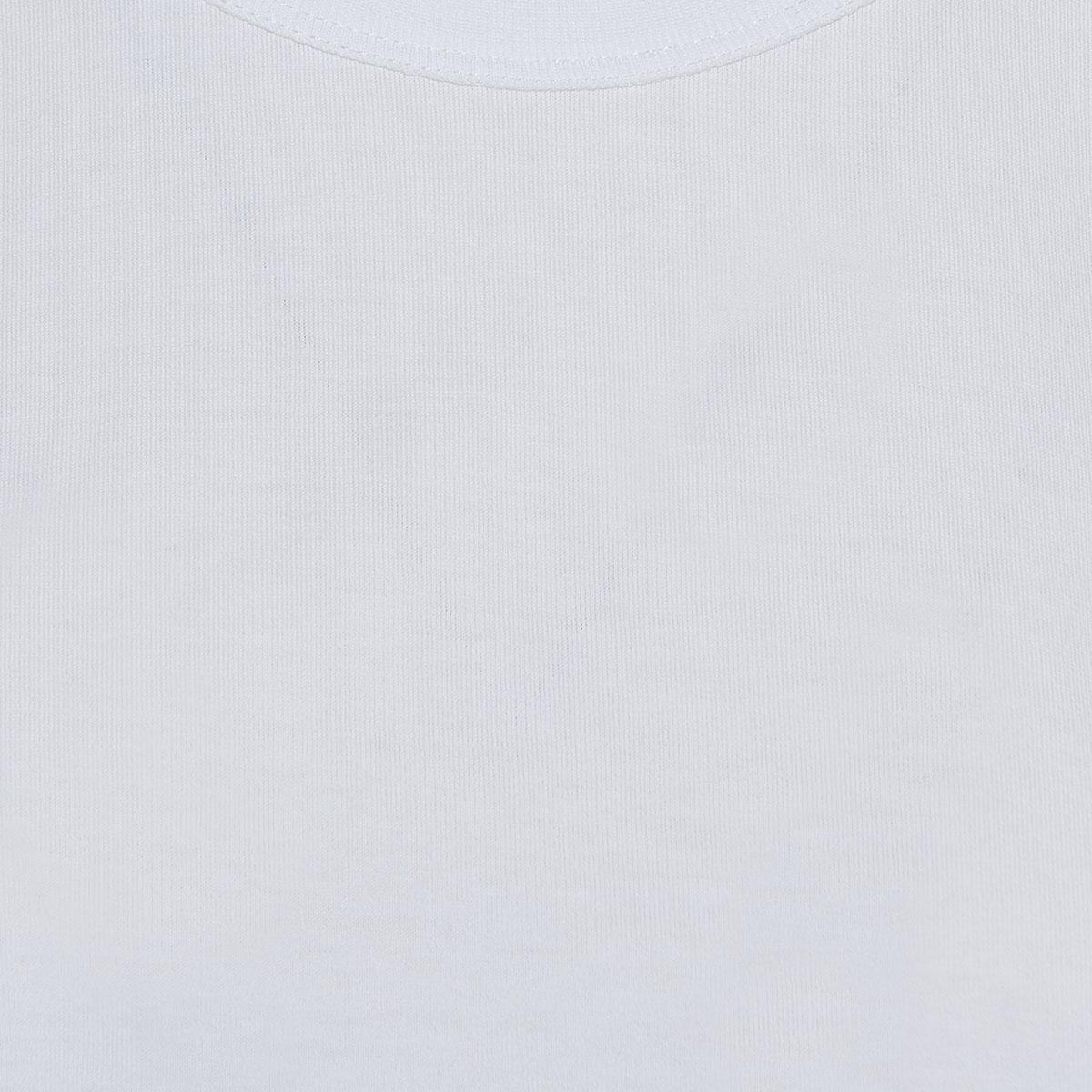 Cropped jersey t-shirt