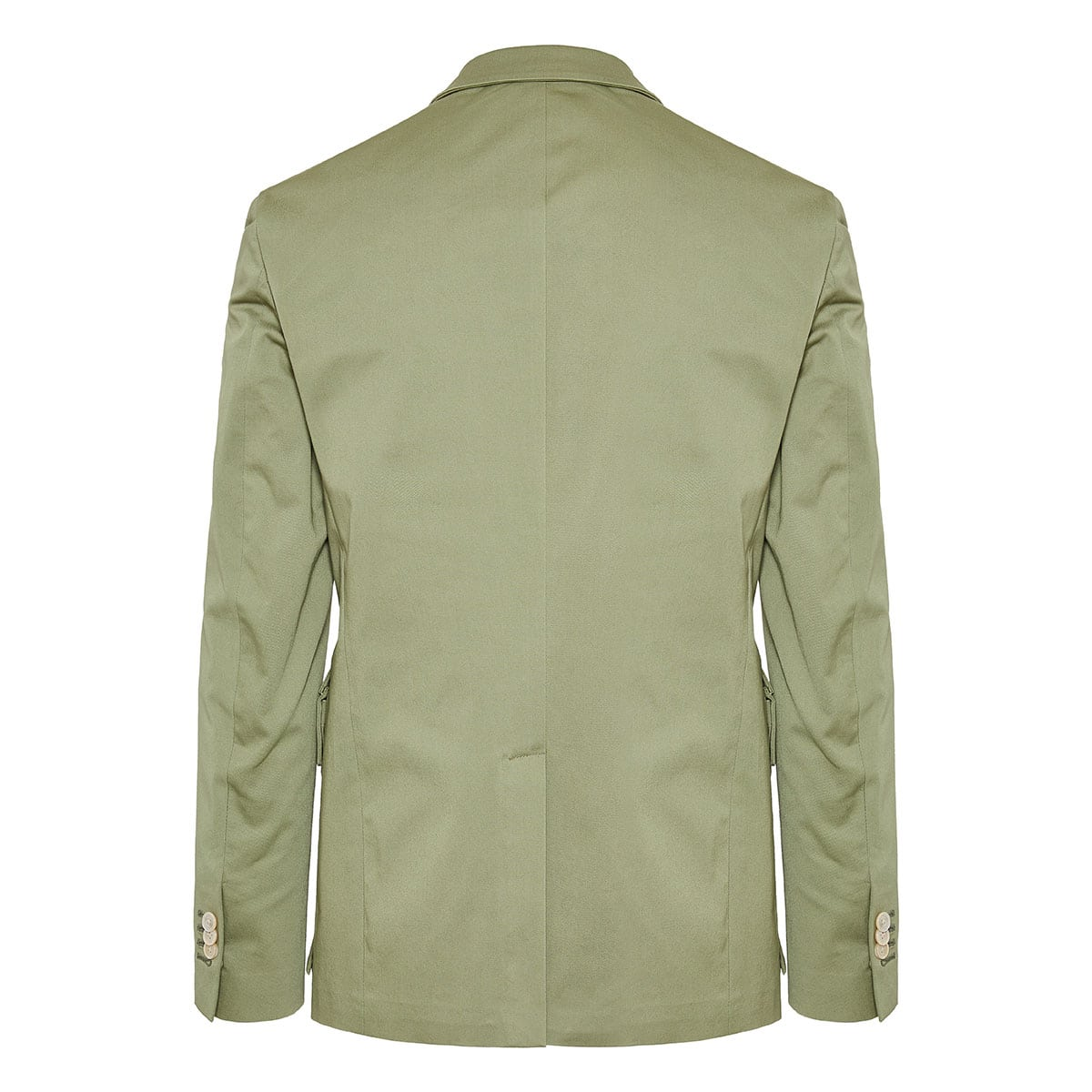 Blazer with detachable pockets