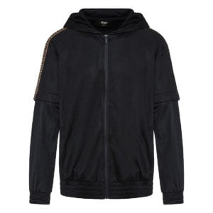 FF detachable-sleeve track jacket