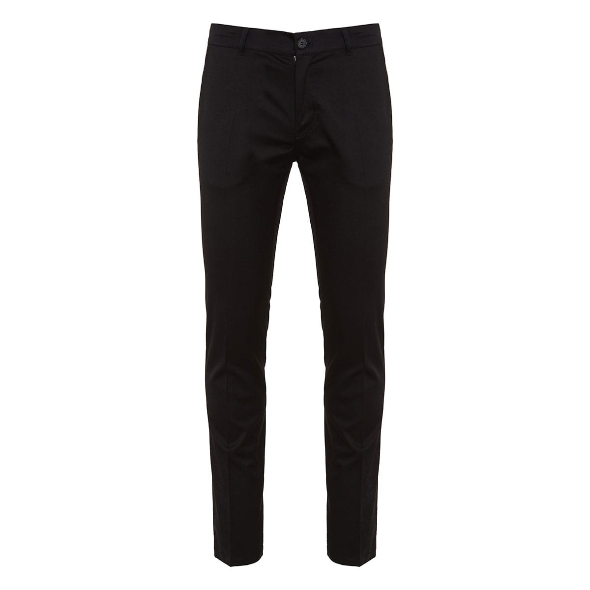 Cotton trousers with logo pockets