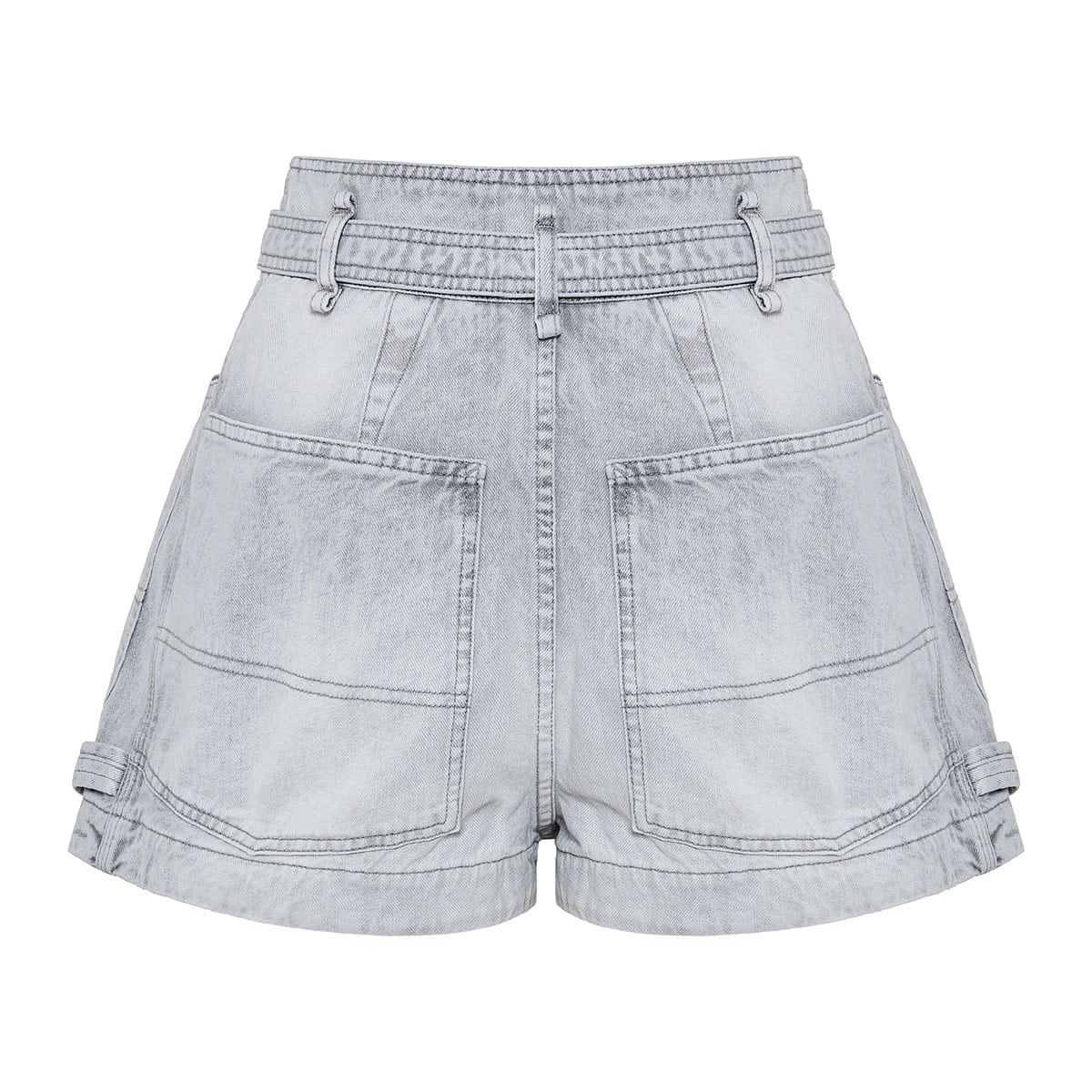 Kike high waist denim shorts