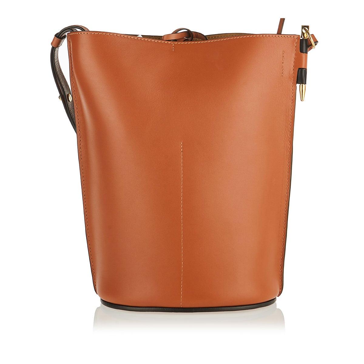 Gate Anagram two-tone bucket bag
