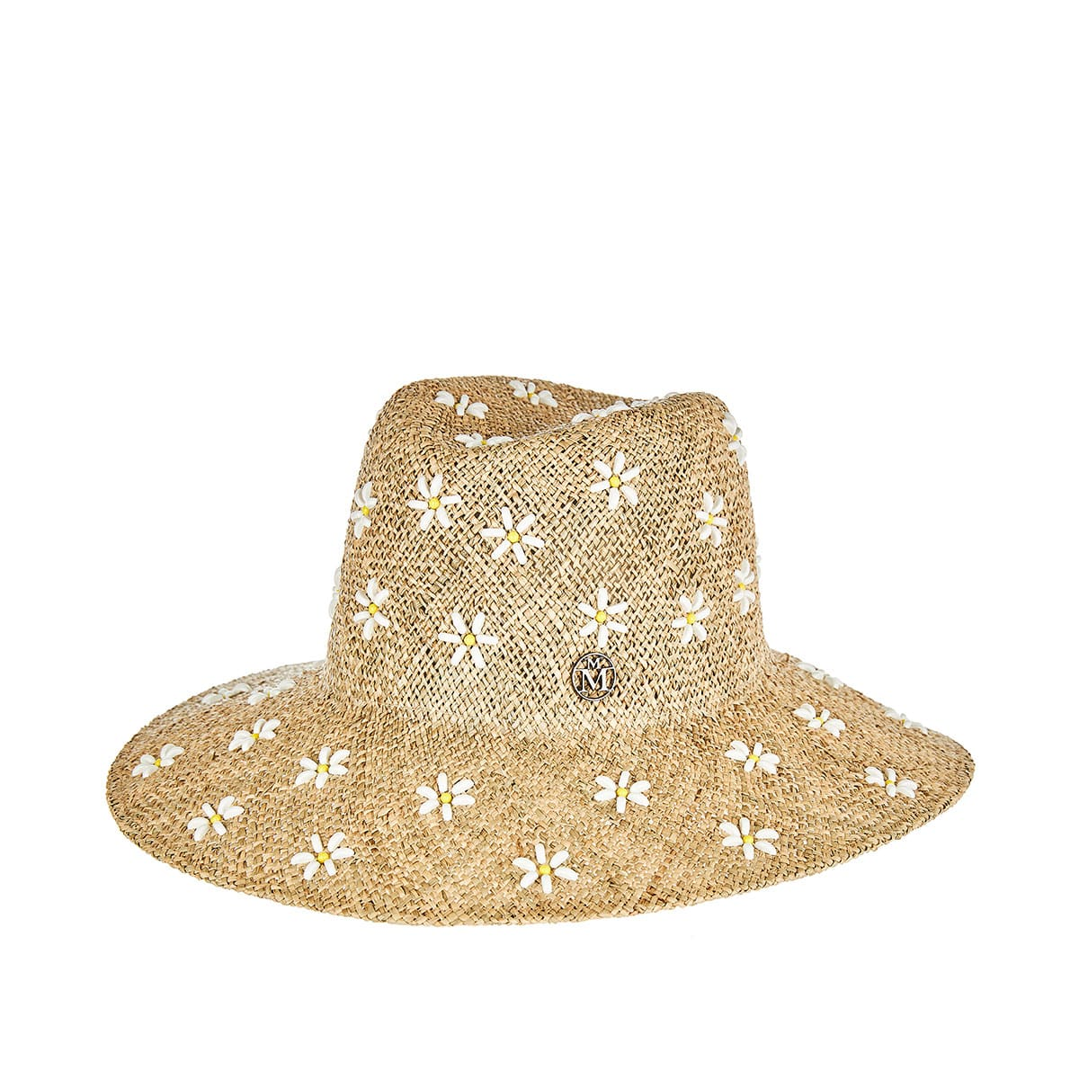 Kate flower-embellished straw hat