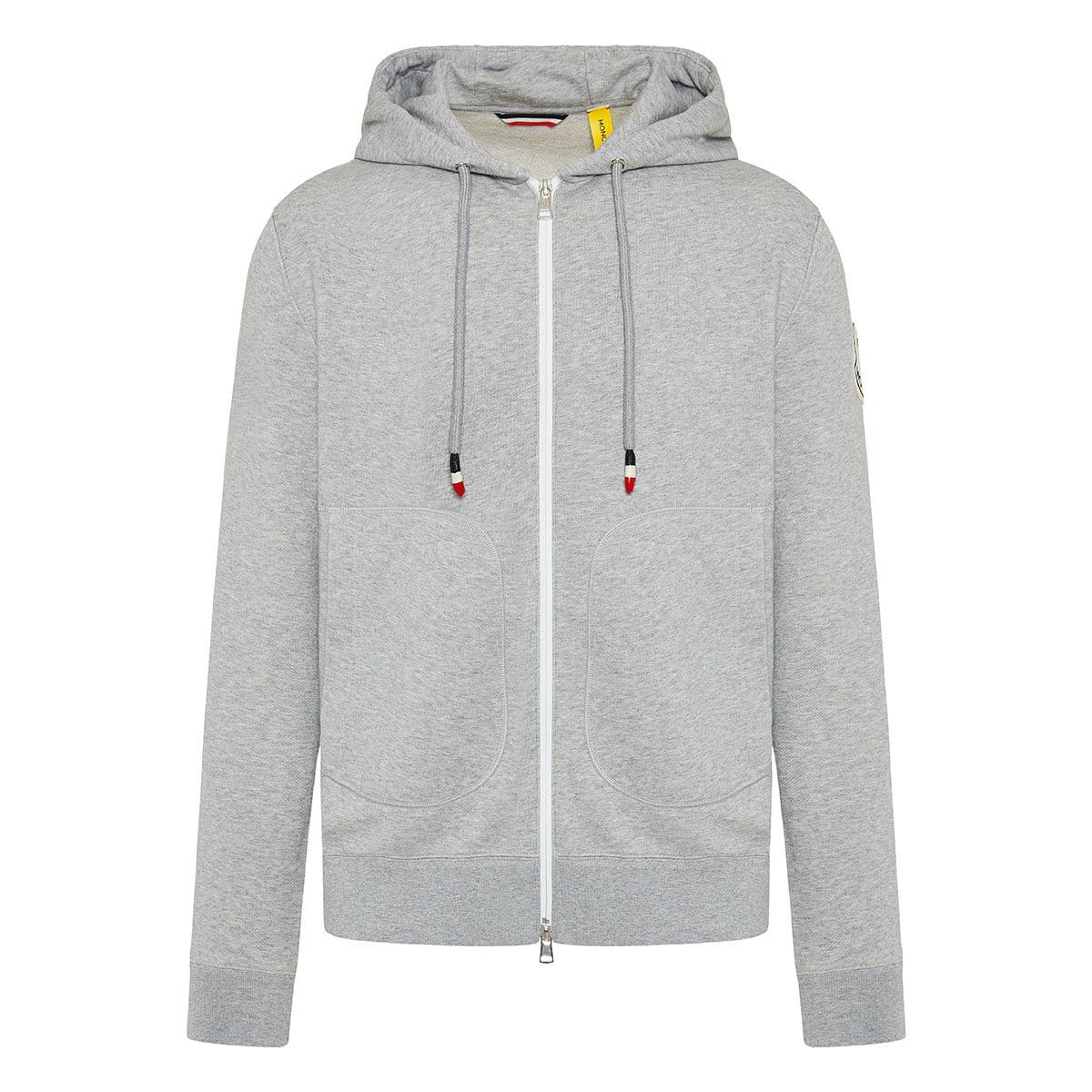 2 Moncler 1952 zipper hoodie