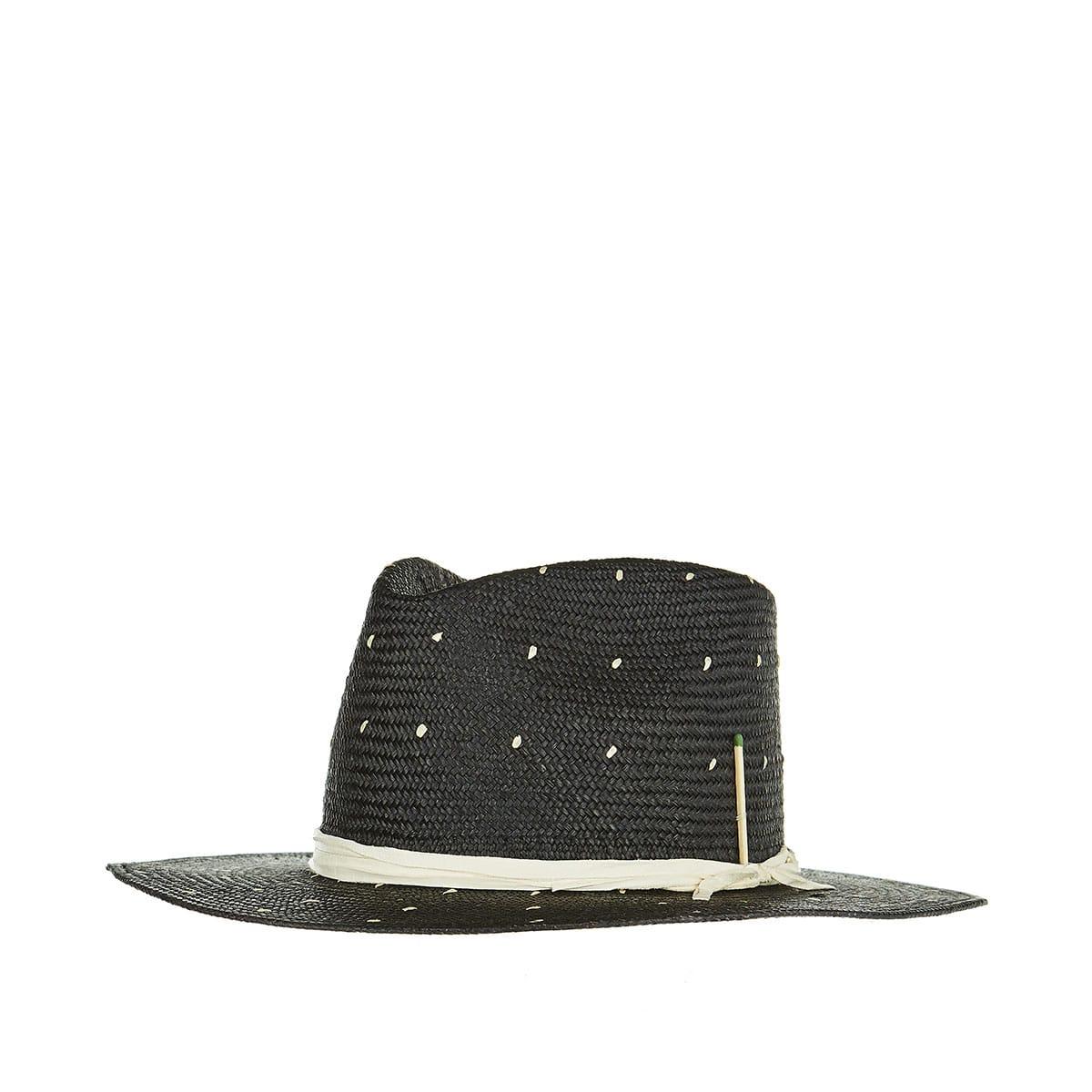 Rain Dog woven straw hat