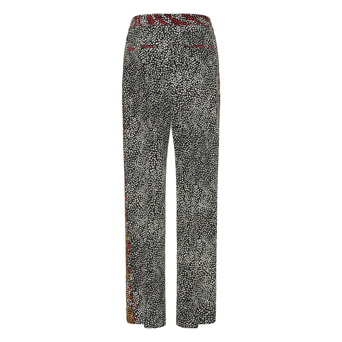 Colette printed wide-leg trousers
