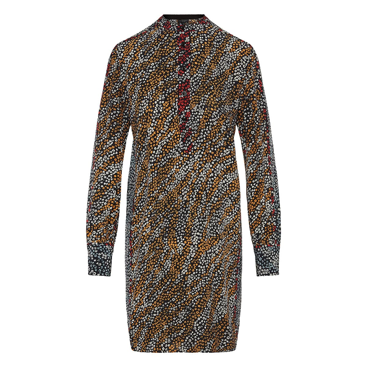 Colette printed shirt dress