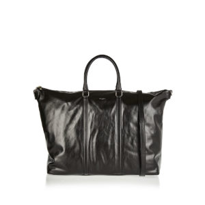 Weekend leather tote