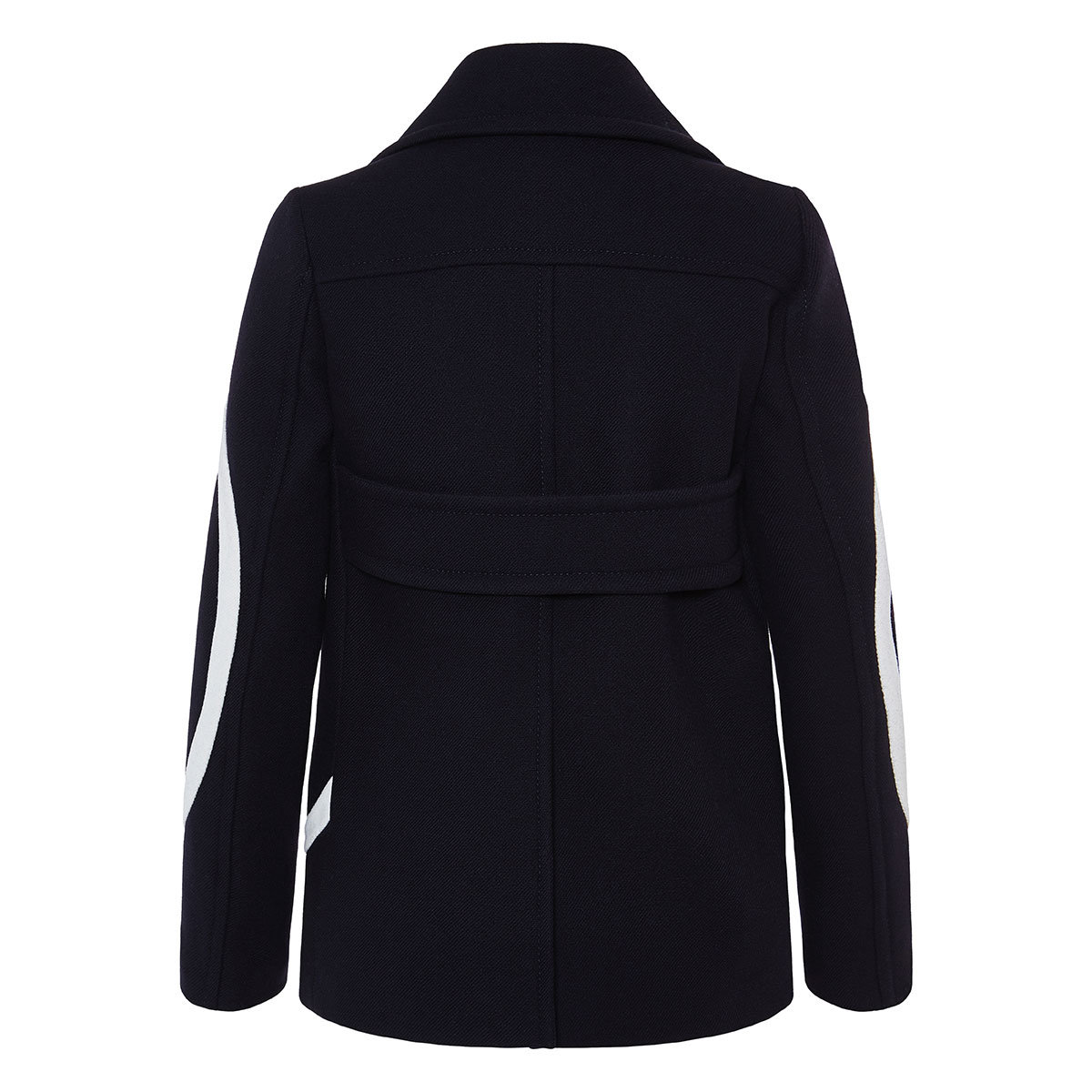 Vlogo double-breasted pea coat