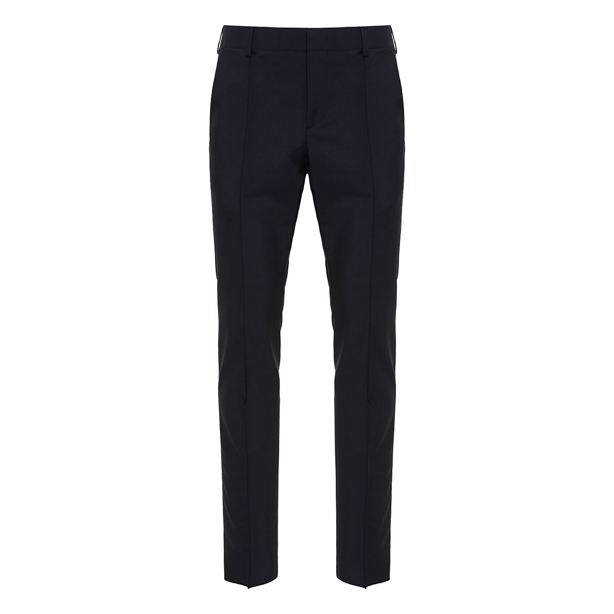 Redbroidery wool trousers
