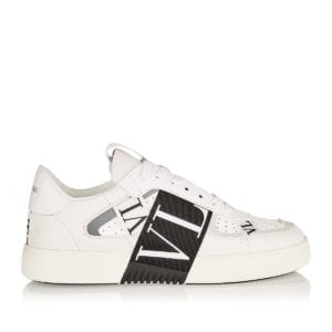 VL7N logo leather sneakers