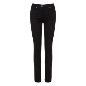 Five-pocket skinny denim trousers