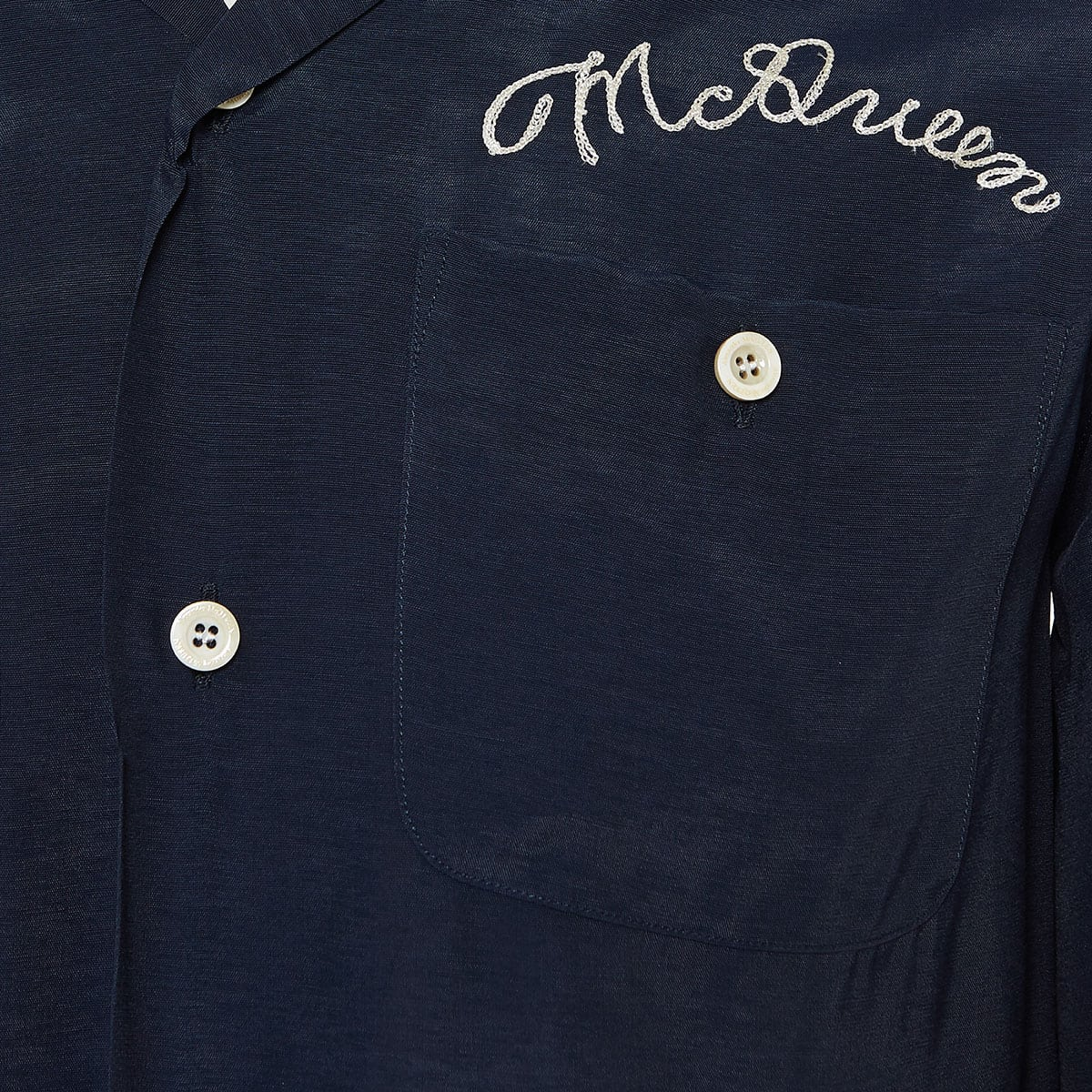 Oversized short-sleeved logo shirt