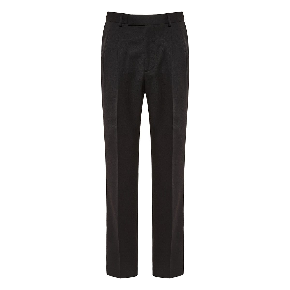 Darted tailored trousers