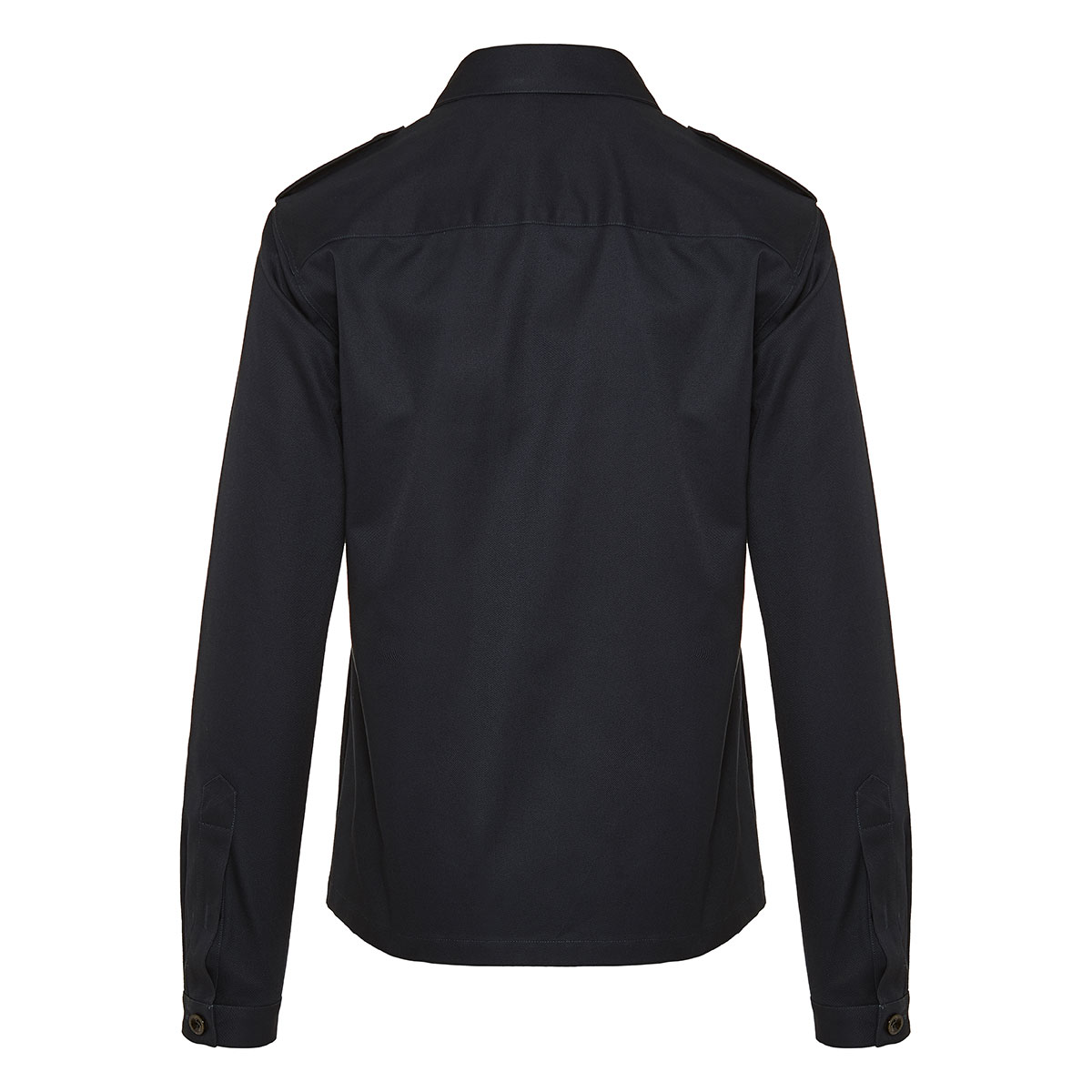 Military twill overshirt