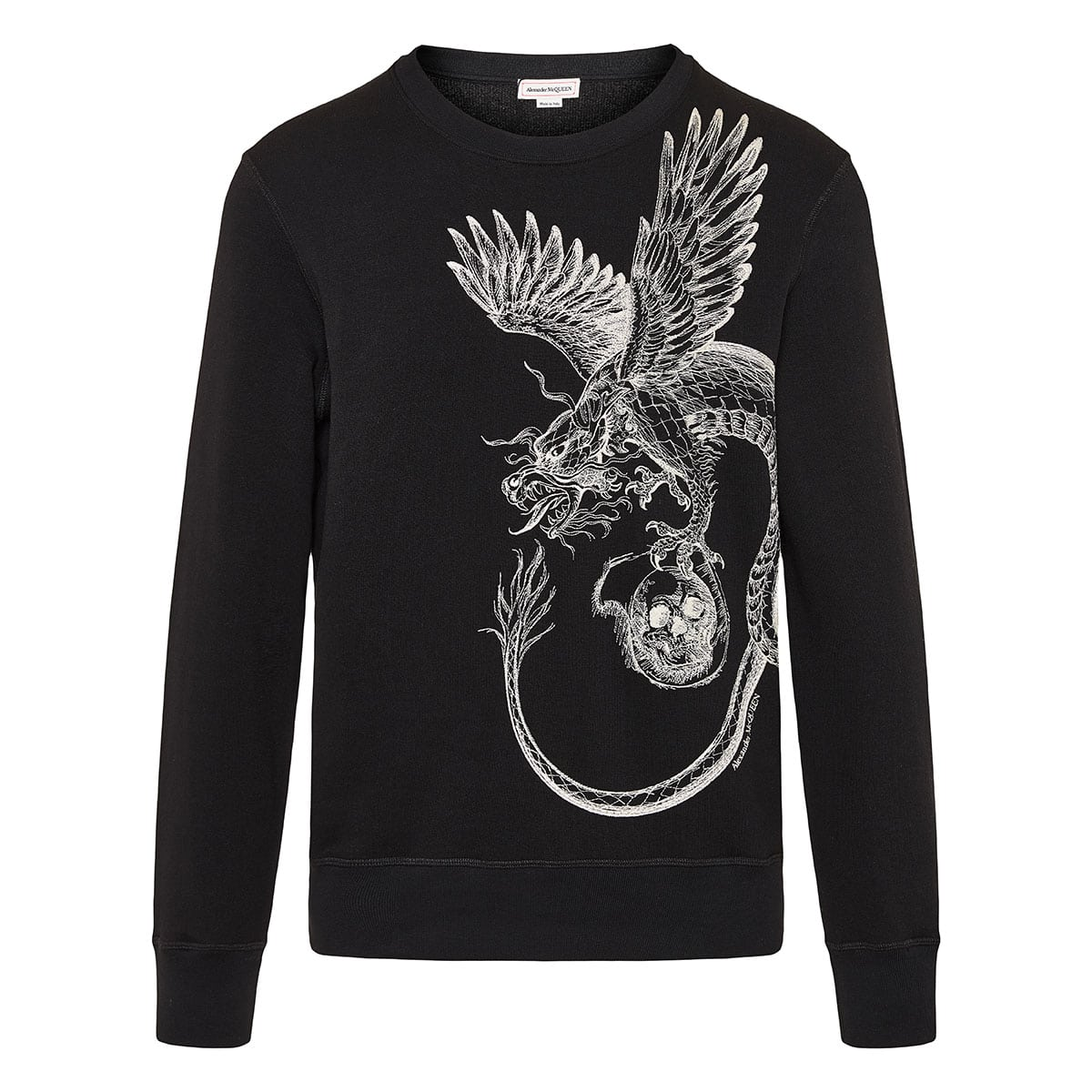Embroidered Dragon sweatshirt