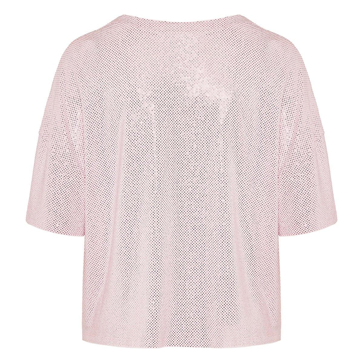 Crystal-embellished t-shirt