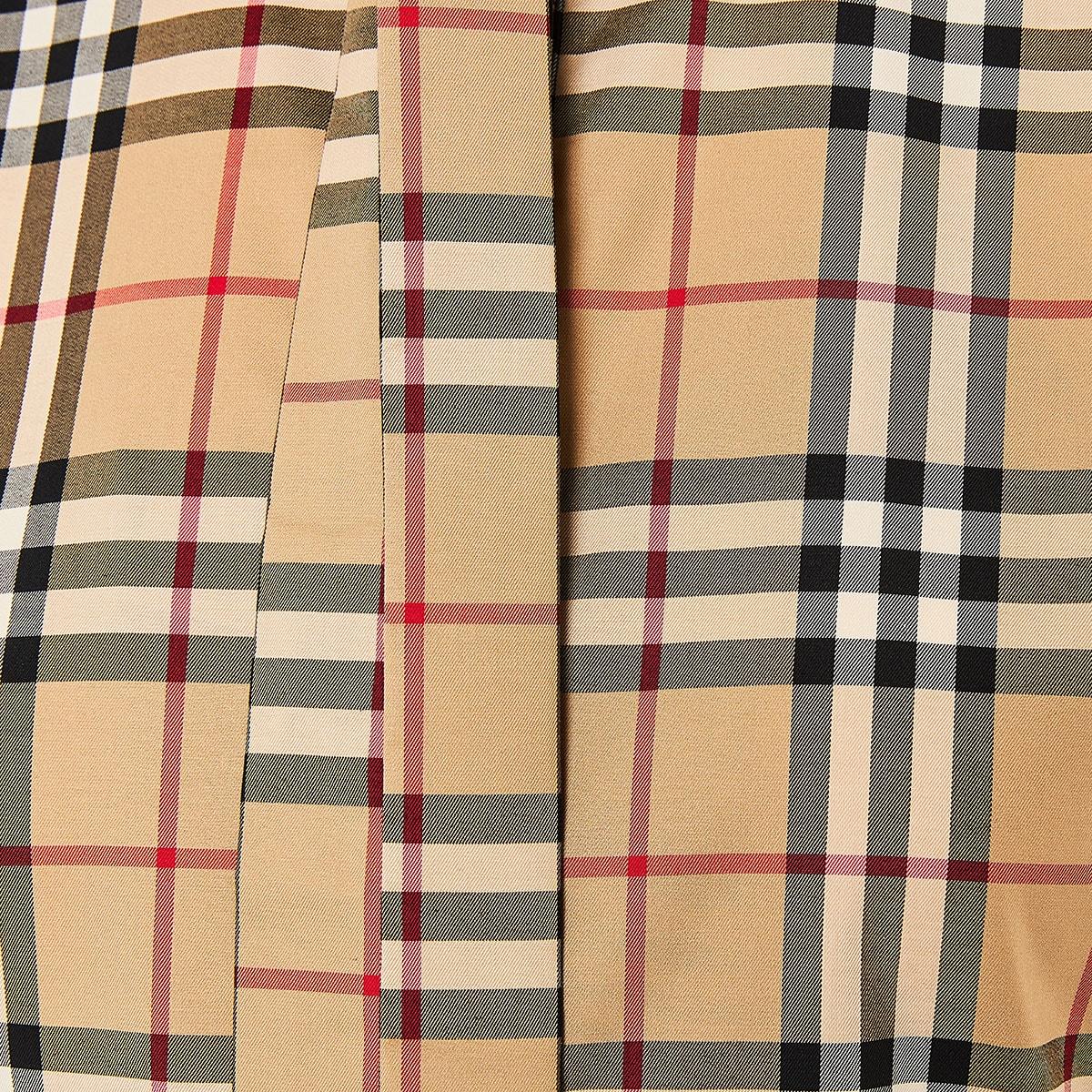Vintage Check bow-tie sleeveless shirt
