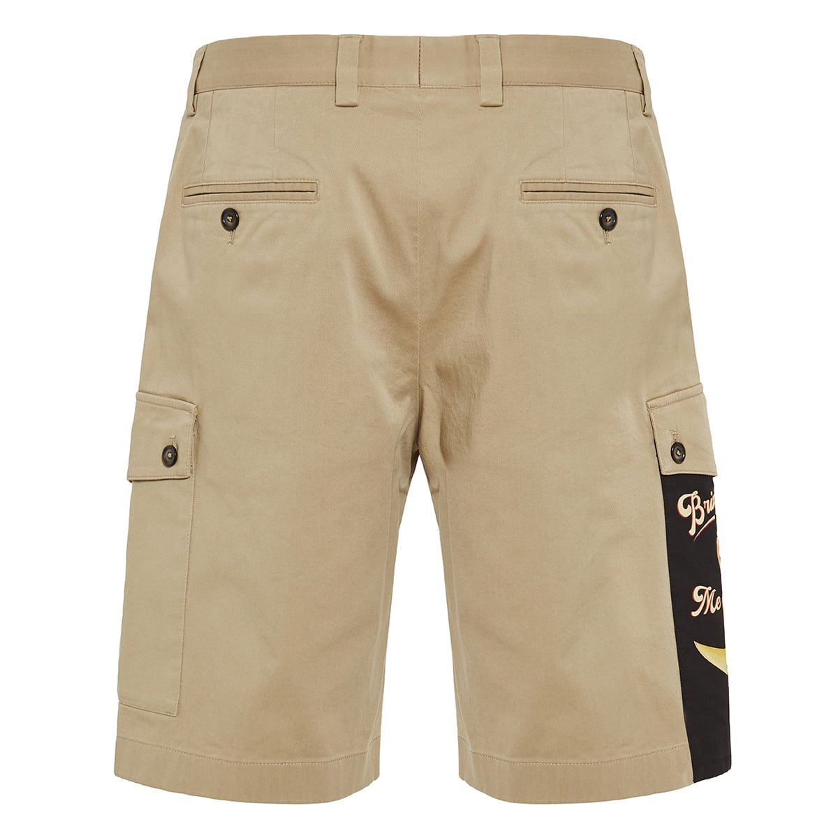 Pin-up Patch cargo shorts
