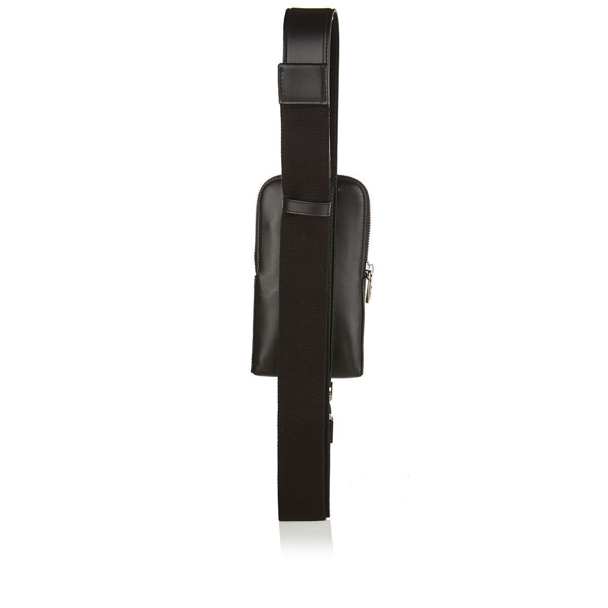 Smartphone crossbody leather case