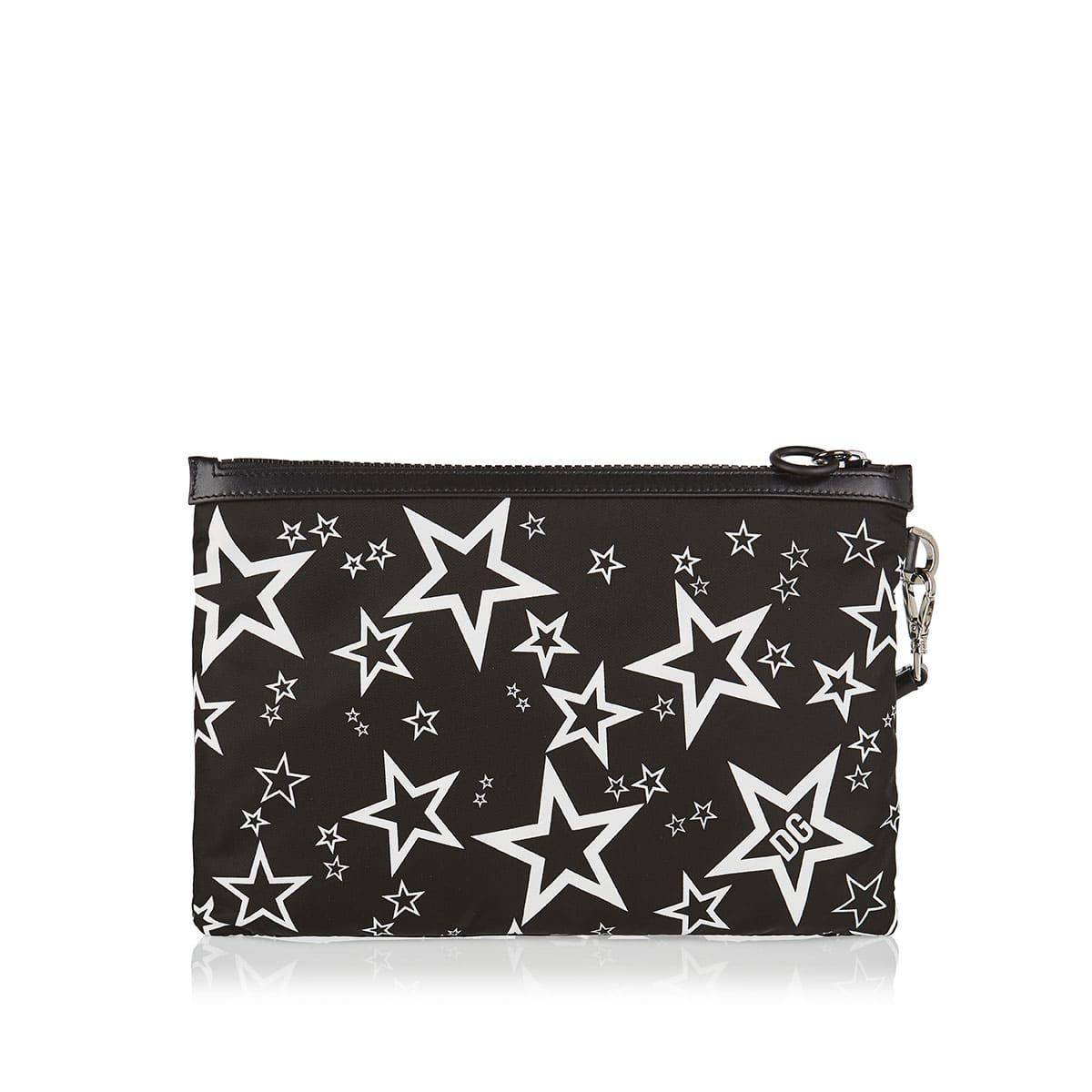 Millennials Star printed pouch