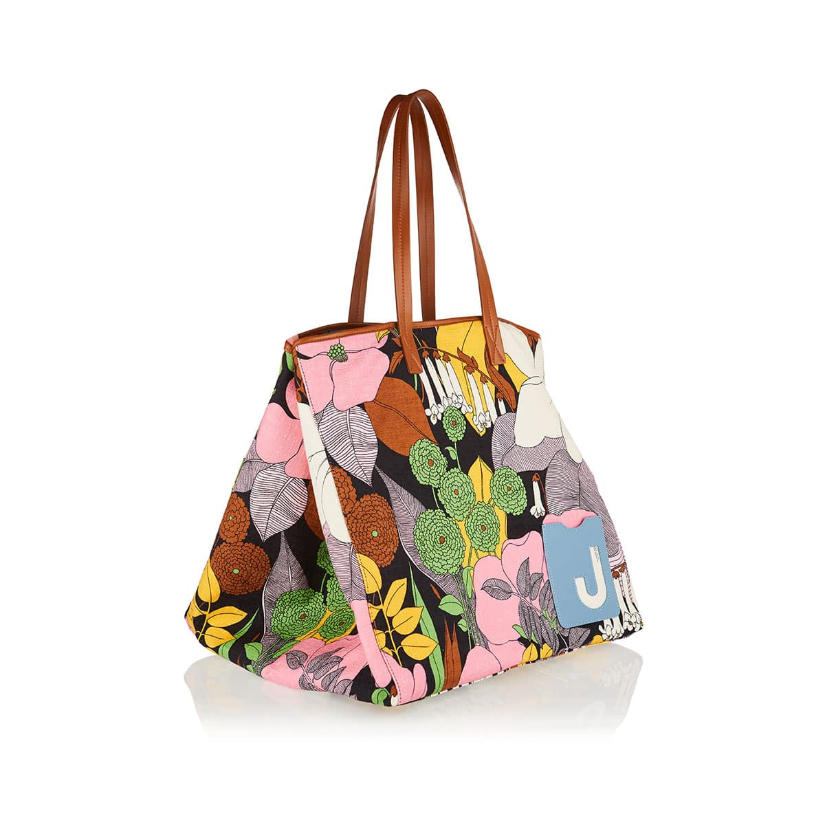 Big Mama oversized floral tote