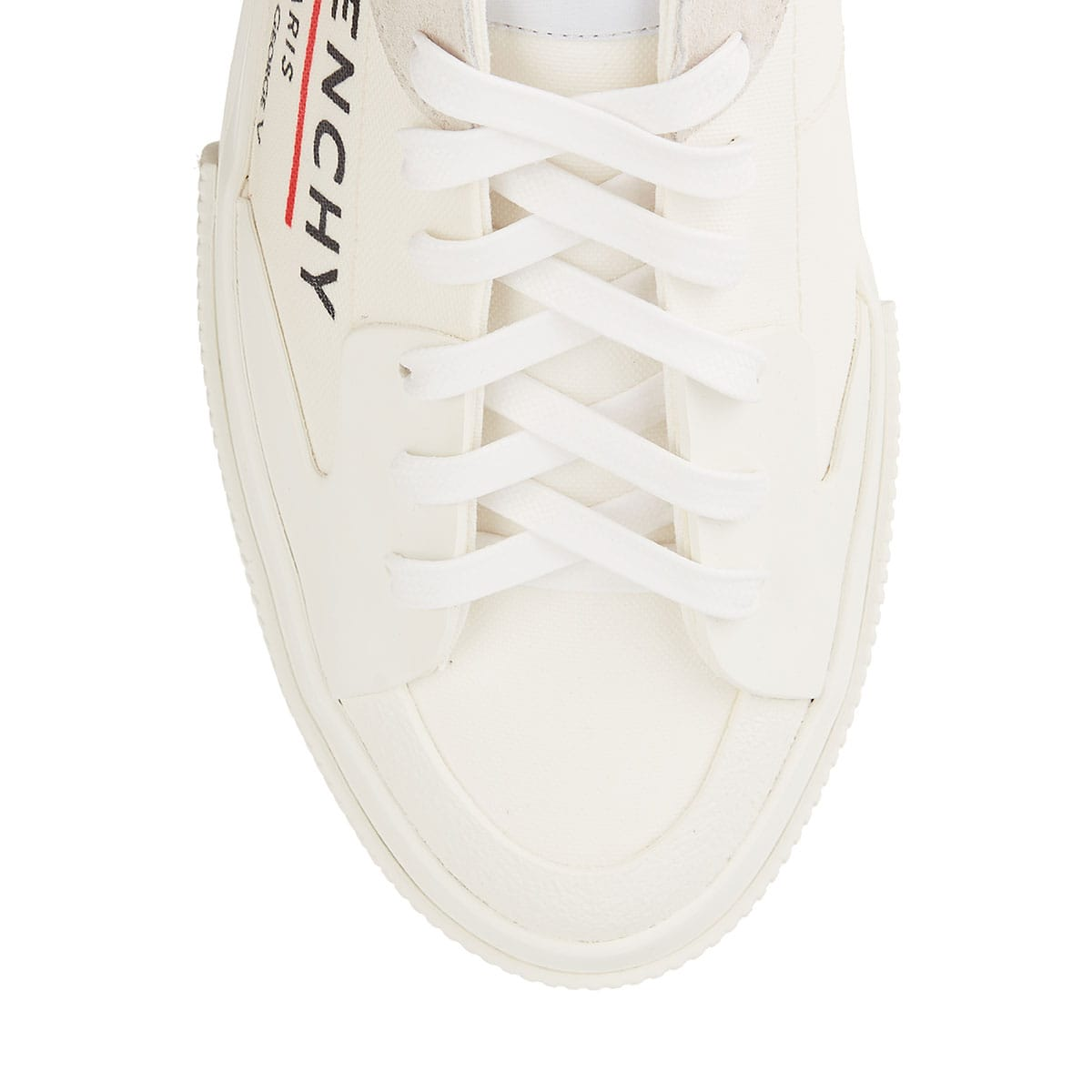 Tennis logo cotton sneakers