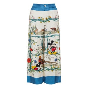Disney x Gucci printed pyjama trousers
