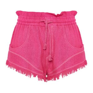 Talapiz high-waist mini shorts
