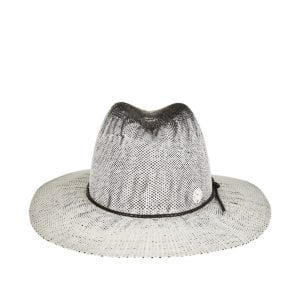 Zango washed-effect straw fedora hat