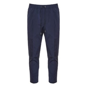 Drawstring cotton trousers