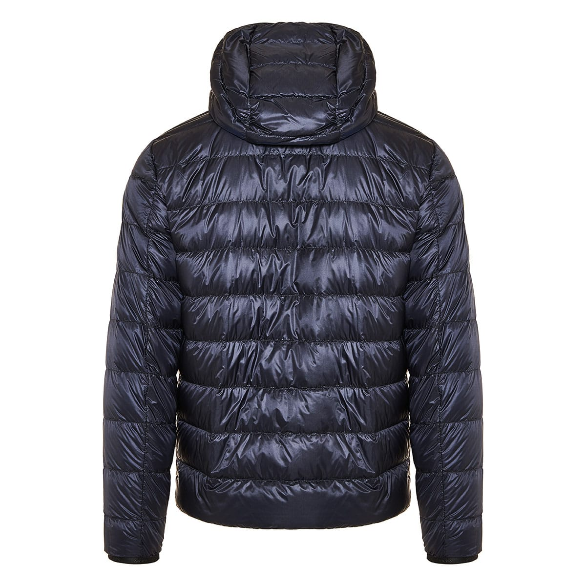 Emas down padded quilted jacket