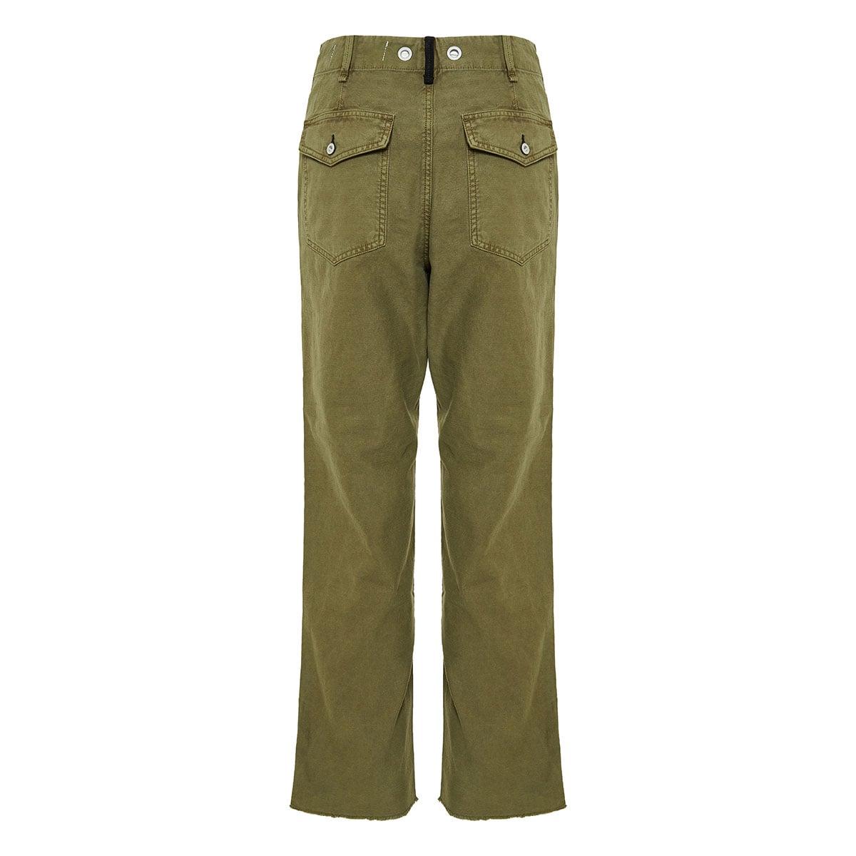 Kaye cropped chino trousers