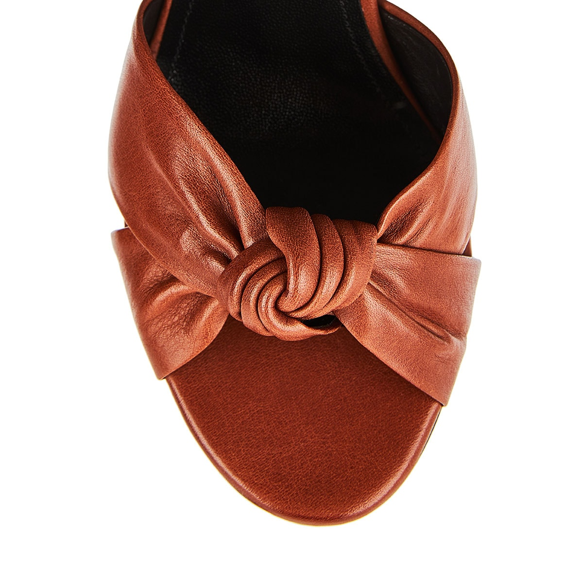 Loulou leather mules