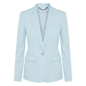 Iris single-breasted wool blazer