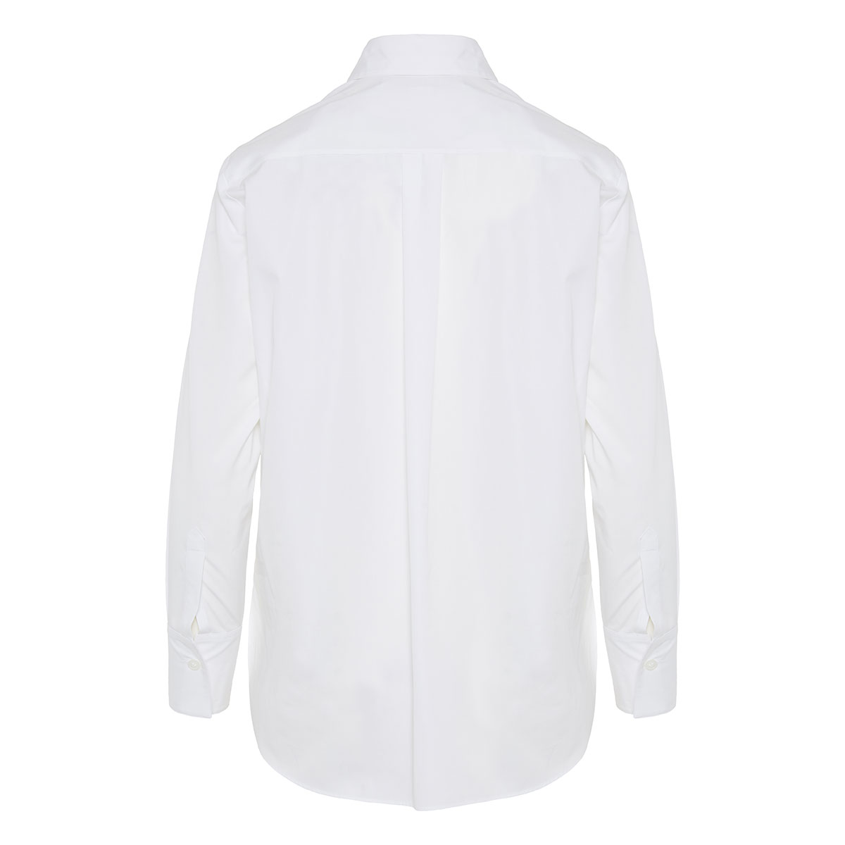 Organic cotton shirt with embroidered detail
