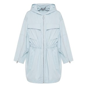 Hooded cotton parka jacket