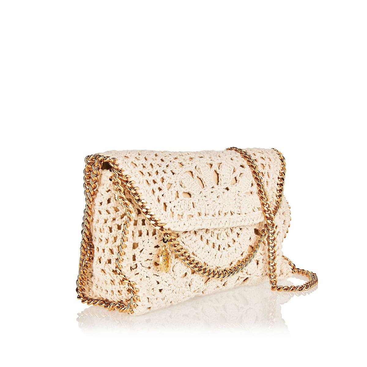 Falabella mini crochet crossbody bag