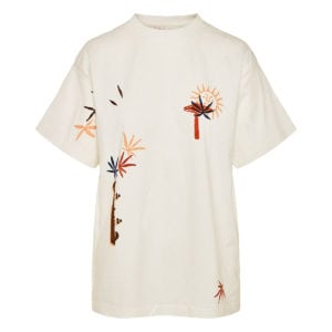Grateful oversized printed t-shirt
