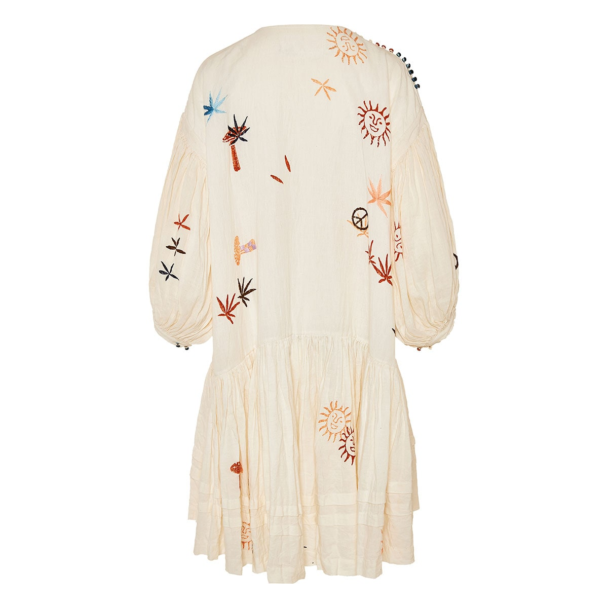 Verity embroidered cotton dress