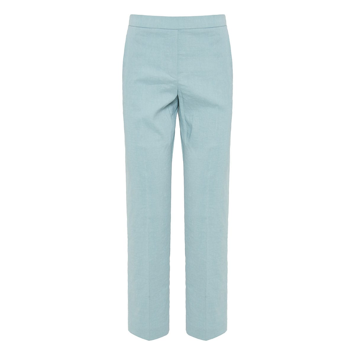 Treeca cropped linen trousers