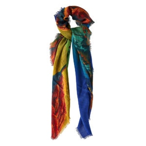 Dragon at Dawn silk scarf