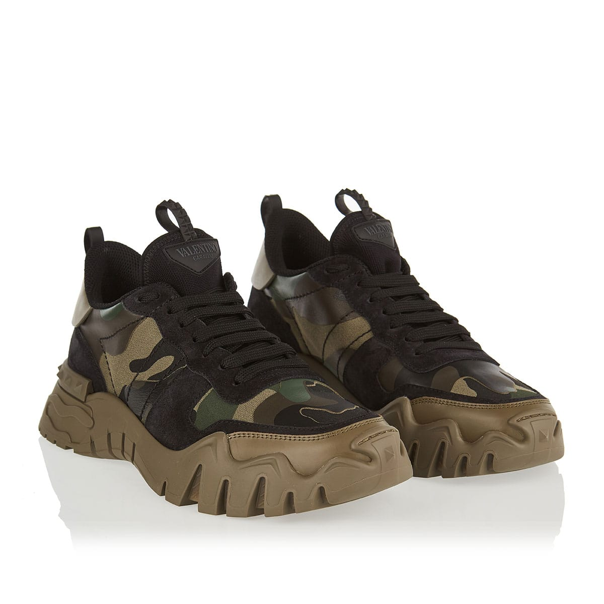 Rockrunner Plus camouflage chunky sneakers