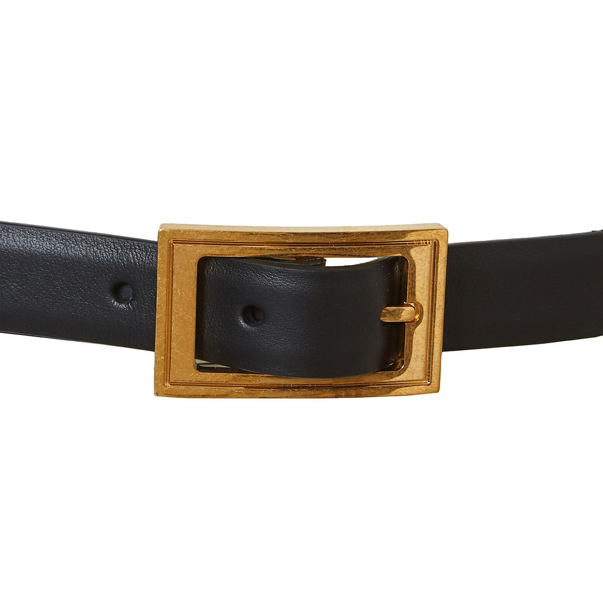 Medusa chain and leather belt