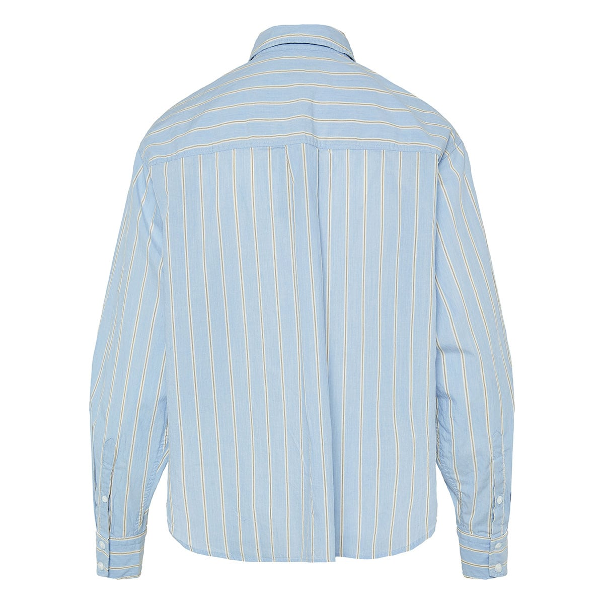 Florian striped cropped shirt