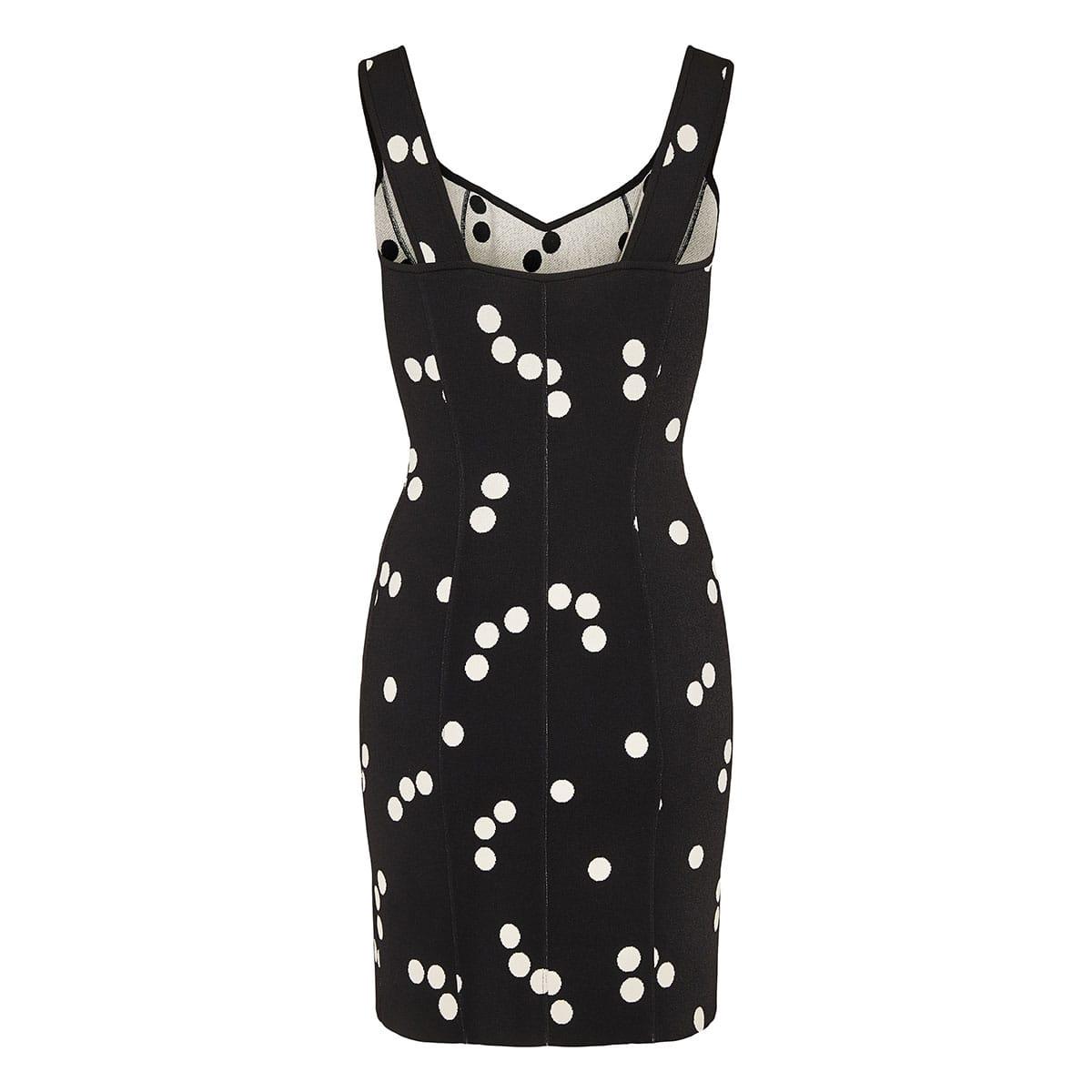 Edition 1991 polka-dot mini dress