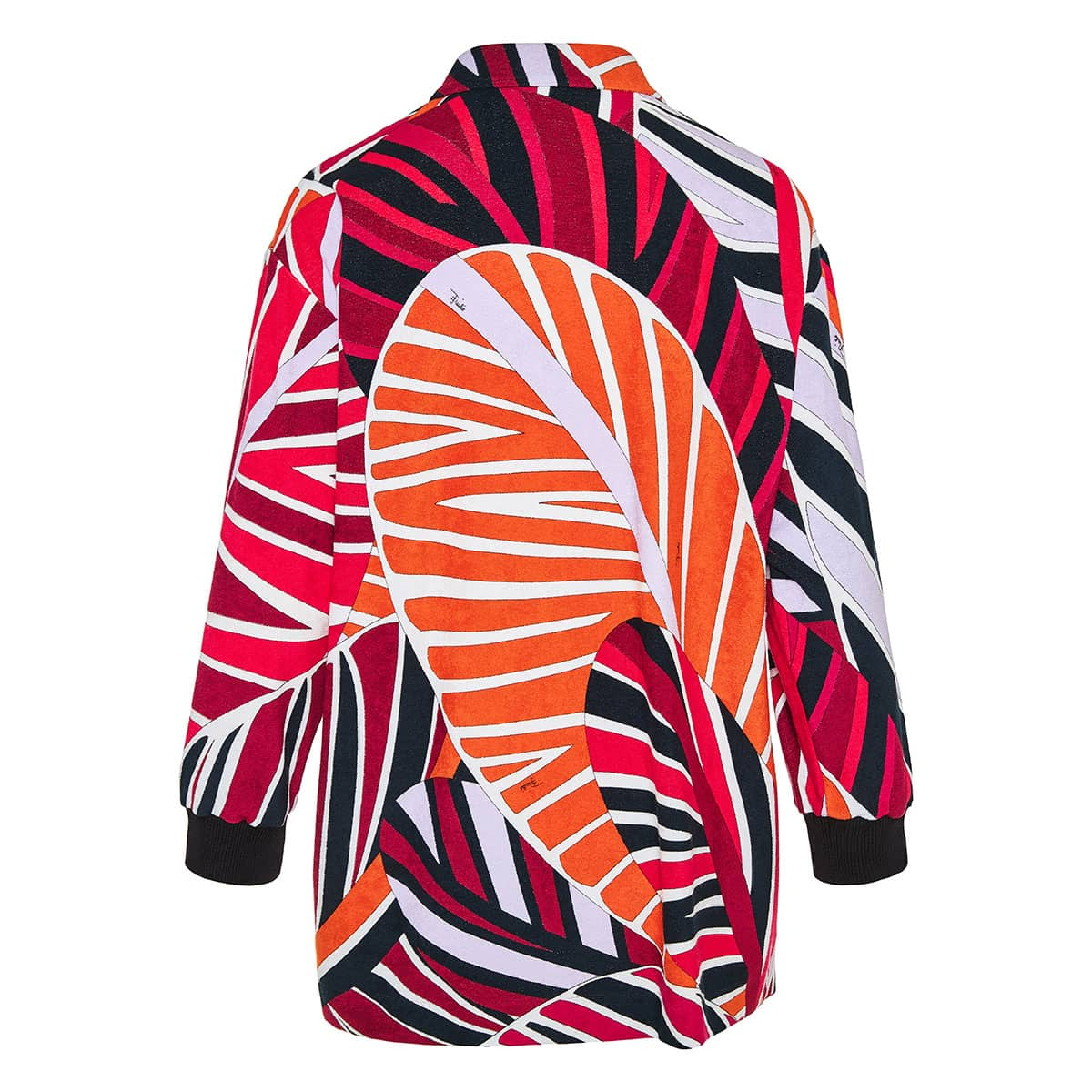 Sal print oversized jacket